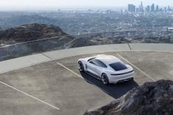 2015 Porsche Mission E concept. Image by Porsche.