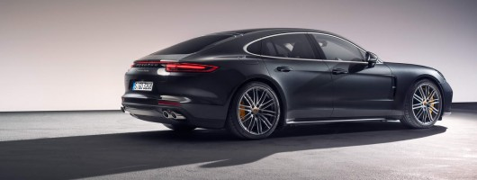 Porsche sharpens up all-new Panamera. Image by Richard Pardon.