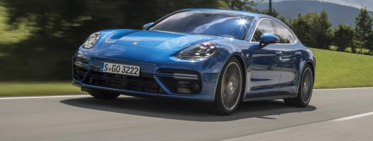 First drive: Porsche Panamera Turbo. Image by Porsche.