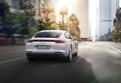 2017 Porsche Panamera 4 E-Hybrid. Image by Porsche.