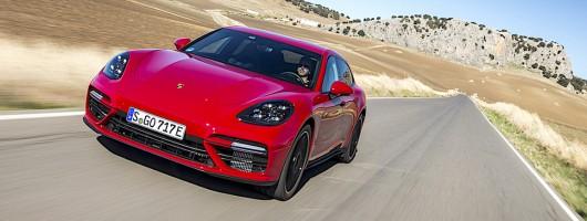 First drive: Porsche Panamera Turbo S E-Hybrid Sport Turismo. Image by Porsche.