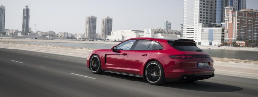 First drive: Porsche Panamera GTS. Image by Porsche.