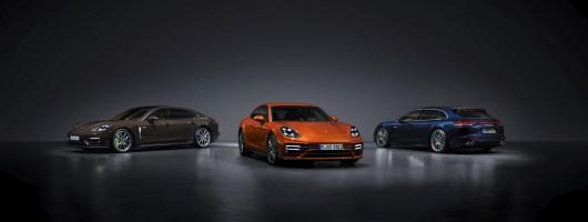 Porsche updates Panamera G2. Image by Porsche AG.