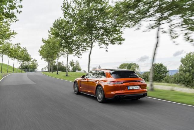 First drive: Porsche Panamera 'G2 II' 2020MY. Image by Porsche AG.
