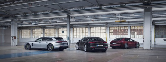 Porsche adds power to Panamera plug-in. Image by Porsche AG.