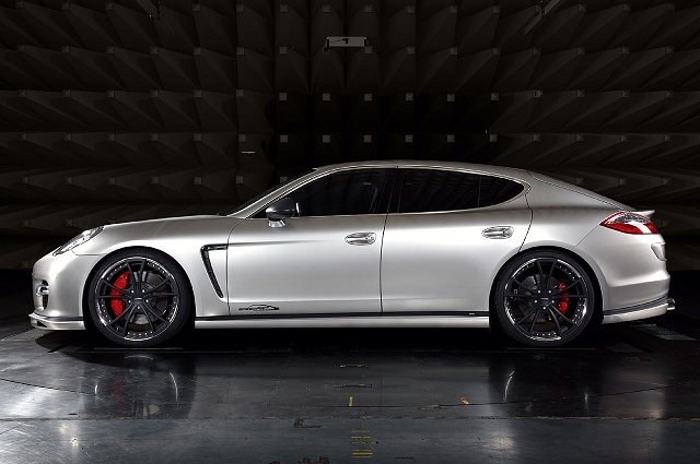 Porsche Panamera gets 650bhp. Image by SpeedArt.
