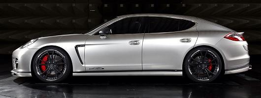 Porsche Panamera gets 650bhp. Image by SpeedArt.