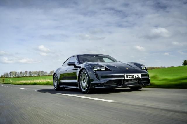 First drive: Porsche Taycan. Image by Porsche GB.