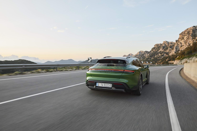 Porsche Taycan Cross Turismo EV estate debuts. Image by Porsche AG.