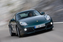 2009 Porsche Cayman S. Image by Porsche.
