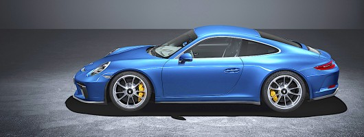 Touring Package is the everyday 911 GT3. Image by Porsche.