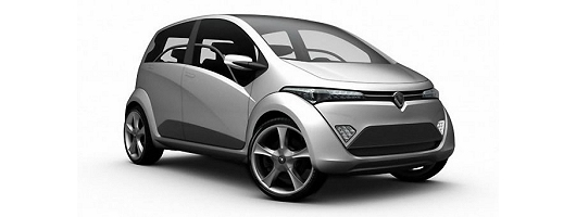 Lotus engineering for Proton City car. Image by ItalDesign.