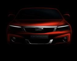 2014 Qoros Geneva debut. Image by Qoros Auto.