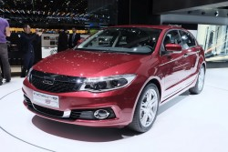 2014 Qoros at Geneva. Image by Newspress.