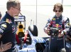 Tom Cruise drives a Red Bull F1 car. Image by Garth Milan.