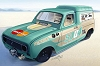 Renault 4 competes in 2011 Bonneville Speed Week. Image by Renault.