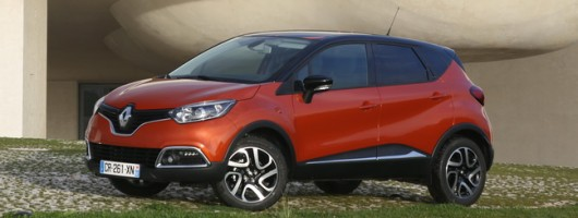 First drive: Renault Captur. Image by Renault.