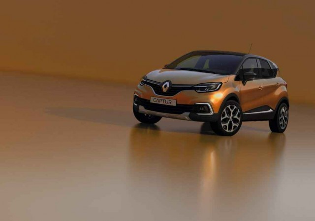 Renault updates the Captur. Image by Renault.