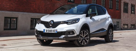 First drive: 2017MY Renault Captur. Image by Renault.