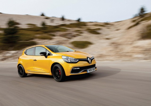 Driven: Clio Renaultsport 200 Cup. Image by Renault.
