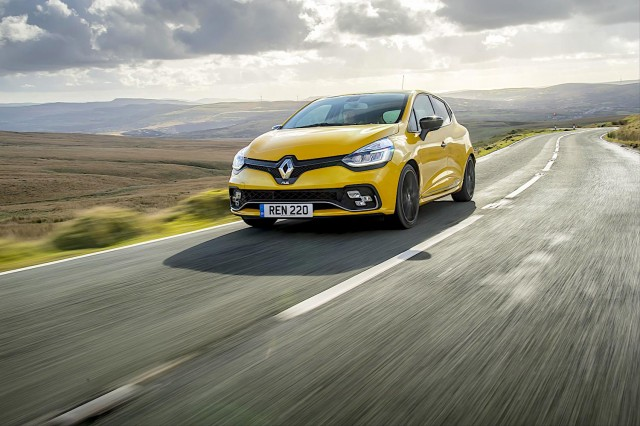 Driven: Clio Renault Sport 220 Trophy. Image by Renault.
