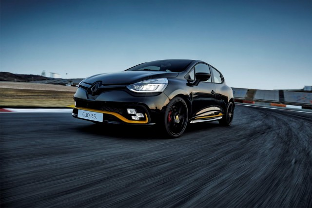 Renault confirms Clio RS18 for UK. Image by Renault.