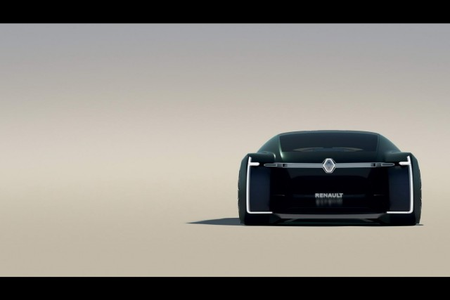 Renault's EZ-Ultimo is a luxury car for sharing. Image by Renault.