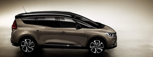 Renault up-scales MPV for new Grand Scenic. Image by Renault.