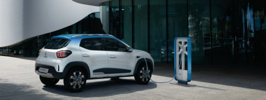 Renault's cheap electric car goes to China first. Image by Renault.