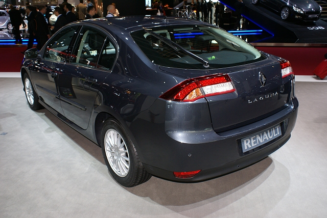The Car Enthusiast Image Gallery 2011 Renault Laguna