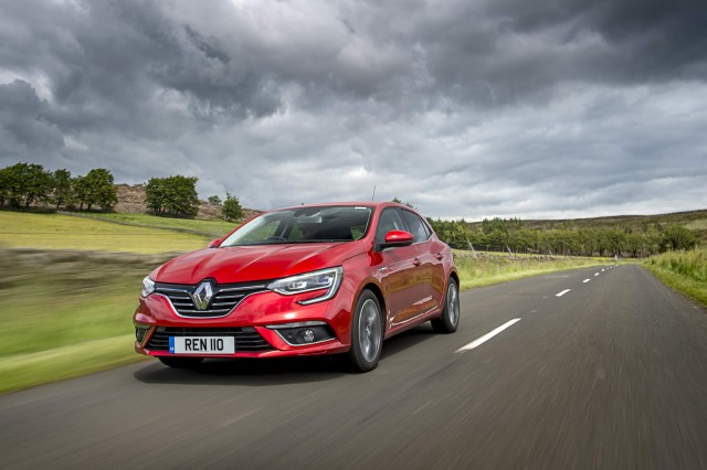 First drive: Renault Megane dCi 110. Image by Renault.