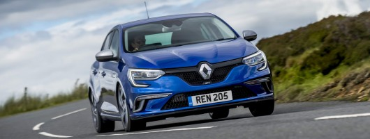 First UK drive: Renault Megane GT. Image by Renault.