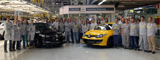 Last-ever MkIII Renault Megane RS on sale. Image by Renault.