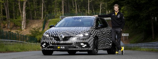 Renault Sport will offer manual gearbox on Megane. Image by Renault.