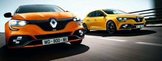 Deep joy! The Renault Sport Megane is back! Image by Renault.