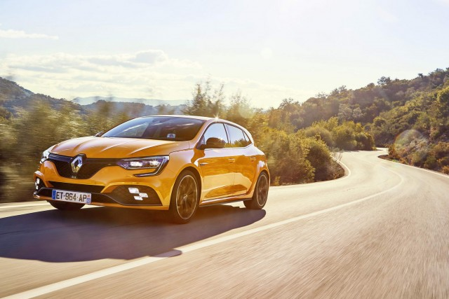 First drive: Renault Megane RS. Image by Renault.