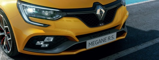 Megane RS range gets hot Trophy version. Image by Renault.