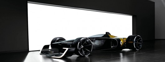 Renault R.S. 2027 previews F1 in a decade. Image by Renault.