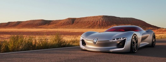 Renault Trezor GT concept wows Paris. Image by Renault.
