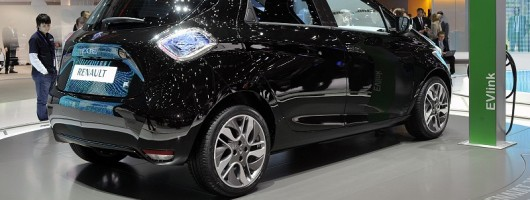 Geneva 2012: Shocking Renault Zoe. Image by United Pictures.