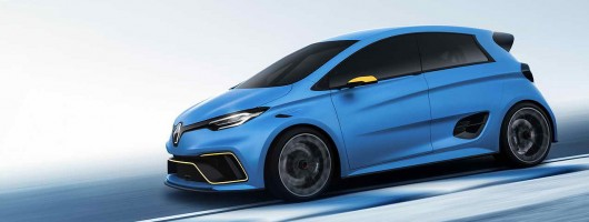 Renault shows race-inspired Zoe concept. Image by Renault.