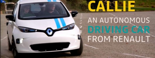 Renault develops advanced robot driving system. Image by Renault.
