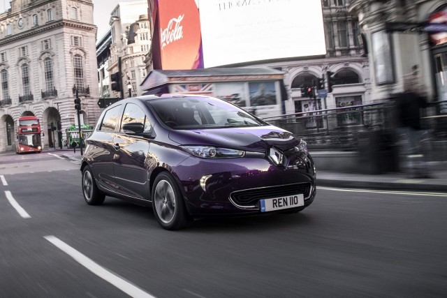 First UK Drive: Renault Zoe R110. Image by Renault.