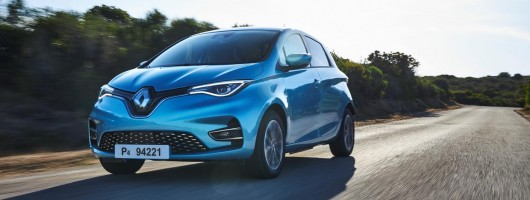 First drive: Renault Zoe R135. Image by Renault.