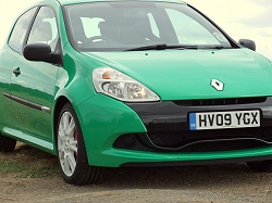 2009 Renault Clio Renaultsport 200. Image by Dave Jenkins.