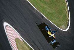 Jenson Button, Renault, 6th place. Image by Renault. Click here for a larger image.