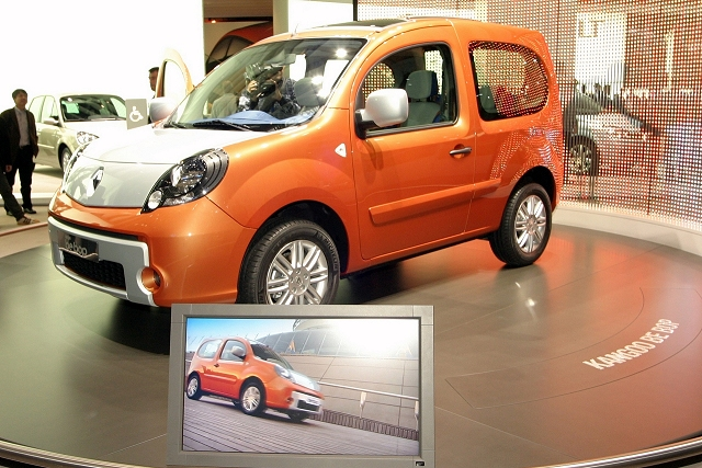 The Car Enthusiast Image Gallery 2009 Renault Kangoo Be Bop