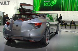 2008 Renault Megane Coupe concept. Image by Shane O' Donoghue.