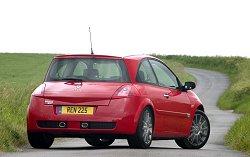 2005 Megane RenaultSport 225 Cup. Image by Renault.