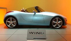 2004 Renault Wind concept. Image by www.salon-auto.ch.